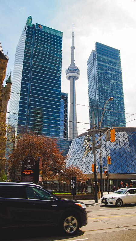 Downtown CN Tower Toronto Ontario Kanada
