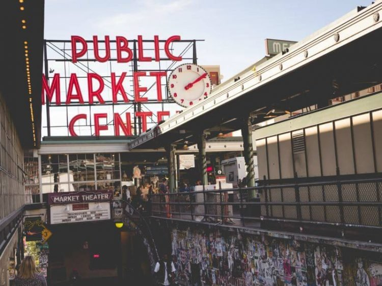 Seattle Public Market Center The Pike Place