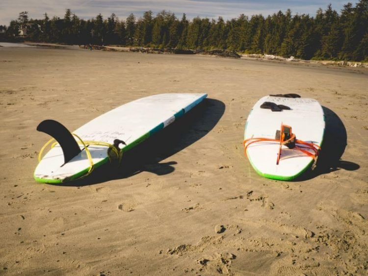 Vancouver Island Surfing Chesterman Beach Tofino