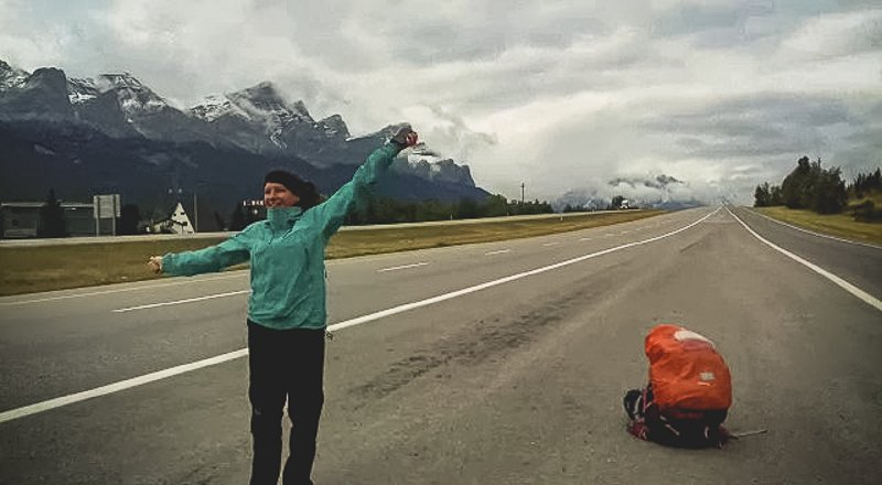 Banff Hitchhiking Canada