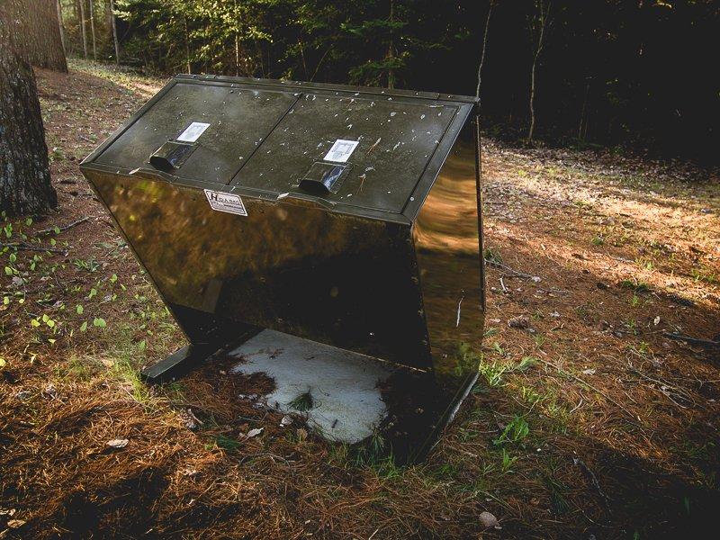 Canada Camping Bins Bears