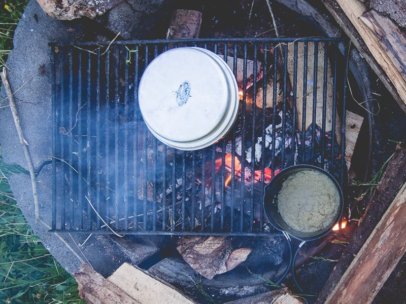 Canada Camping Cooking