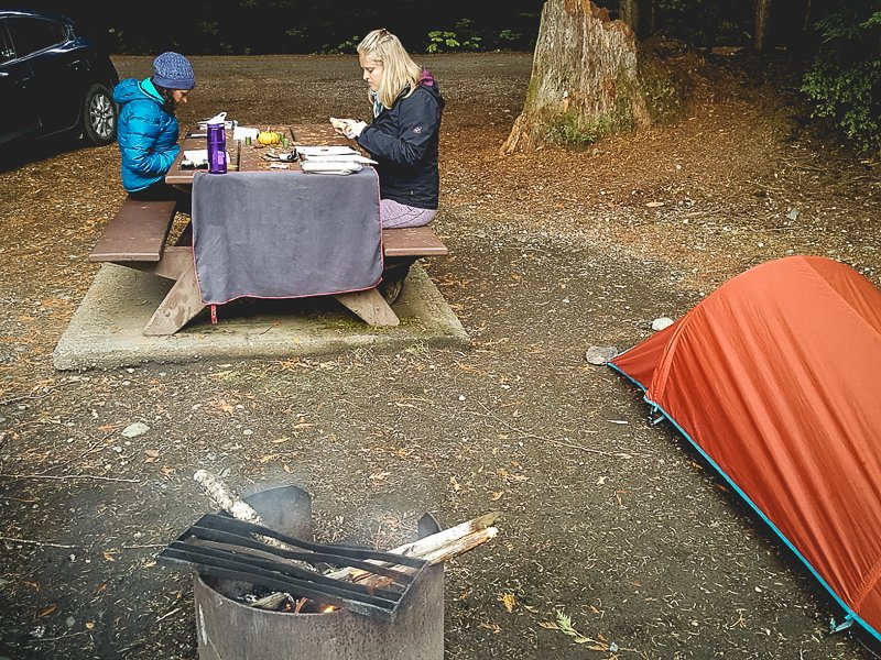 Canada Camping Campsite Frontcountry
