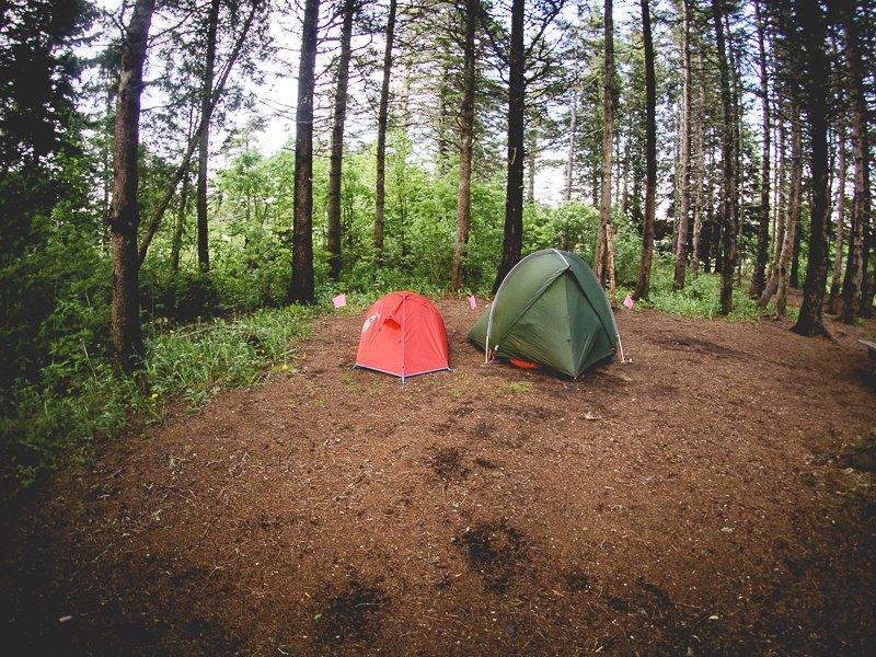Canada Camping Tent Campsite