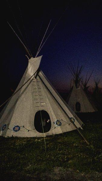 Canada Camping Tipi