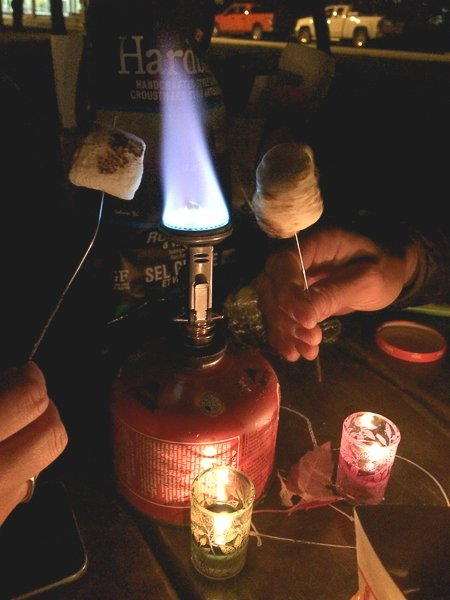 Canada Marshmallow Camping Fire