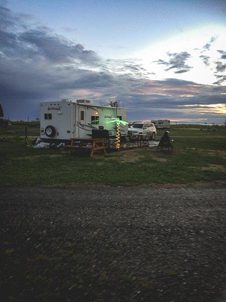 Canada RV Park Camping Trailer