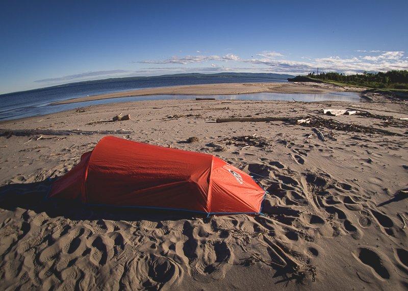 Canada Camping Tent Beach