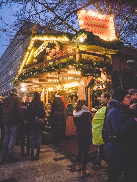 Hannover Germany Christmas market
