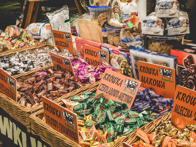 Kraków Poland Christmas market