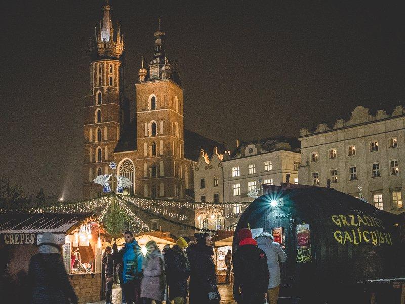 Kraków Poland Jarmarki