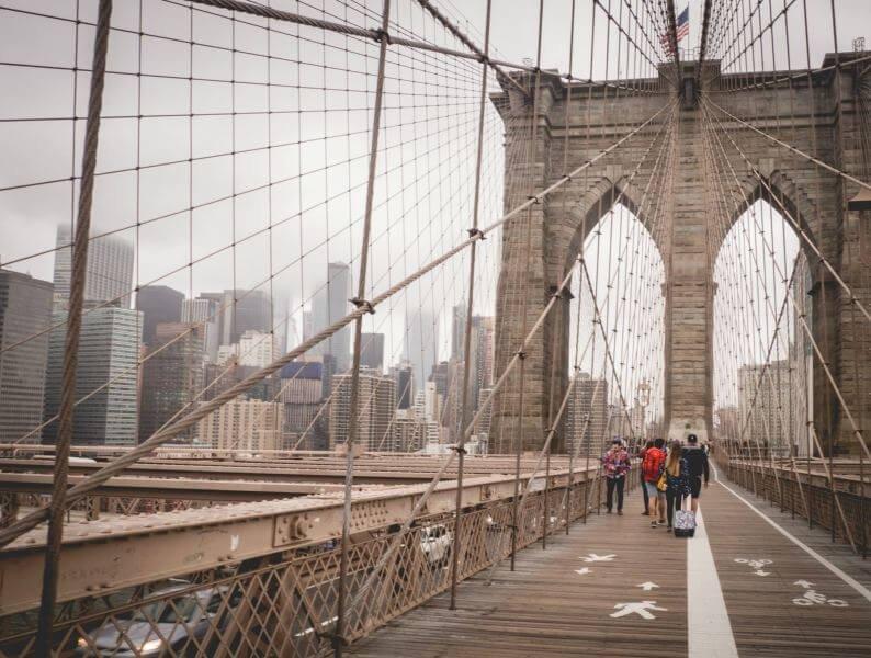 Nowy Jork Most Brookliński