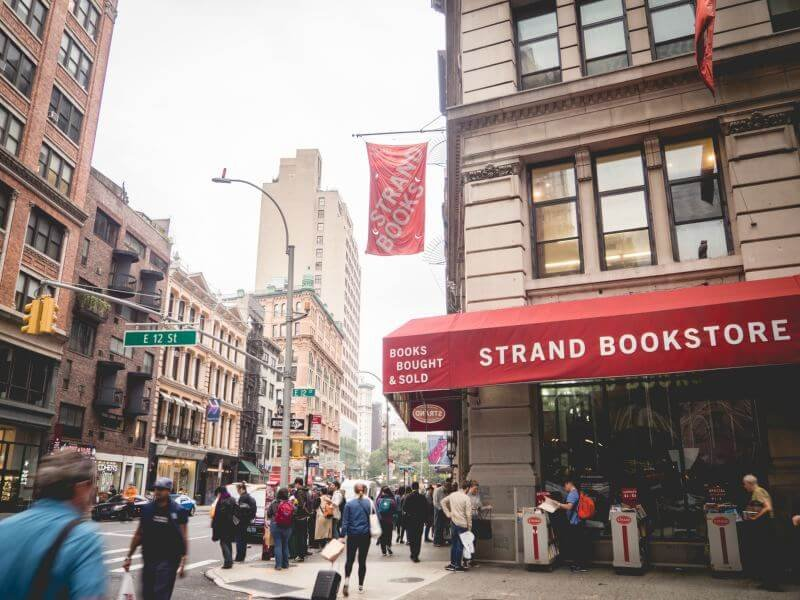 Nowy Jork Strand Bookstore