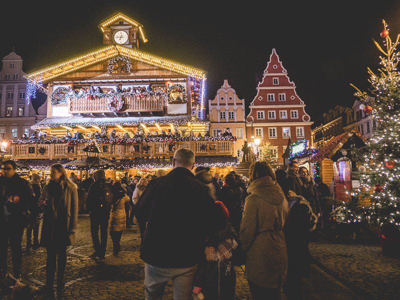 Wroclaw Poland Christmas market