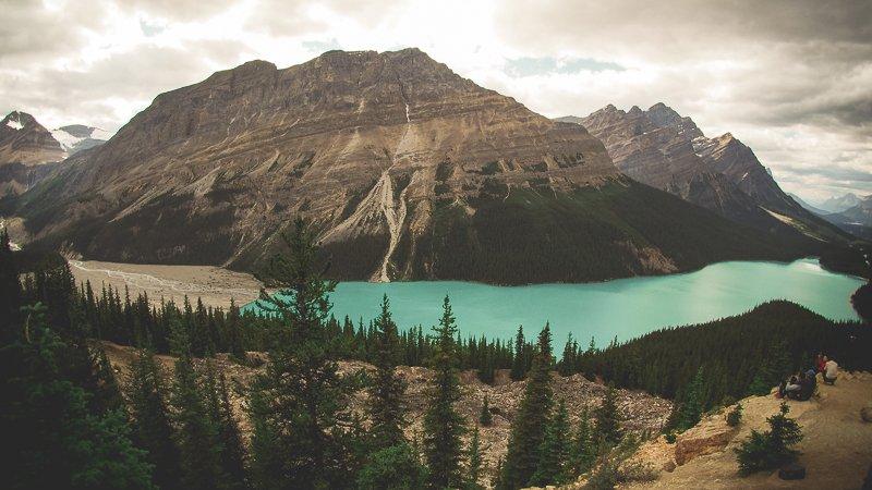 Peyto Lake Park Banff Alberta Canada