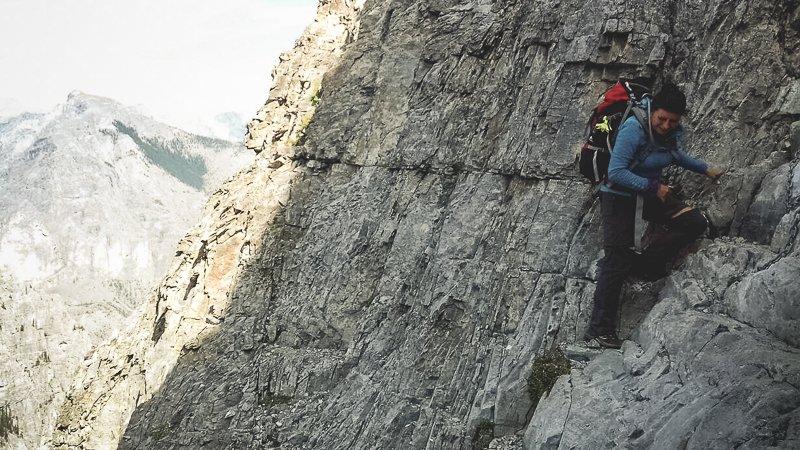 Yamnuska Mountain Canada