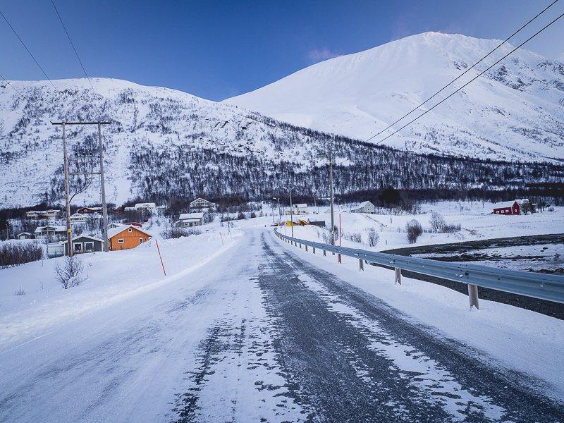 Alpy Lyngen Norwegia