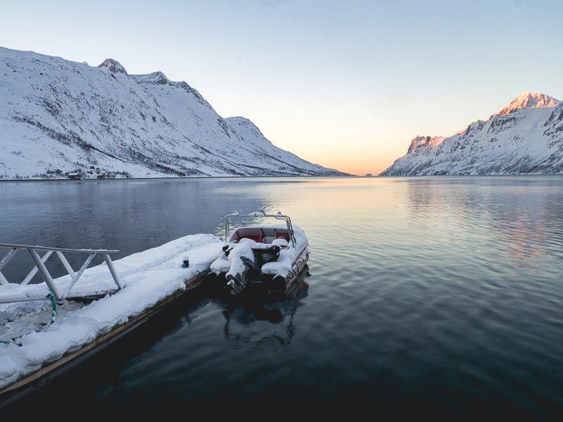 Kvaløya Nattmålsfjellet Ersfjord Norway