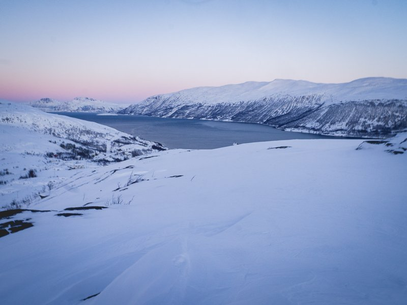 Kvaløya Nattmålsfjellet Kaldfjord Norwegia