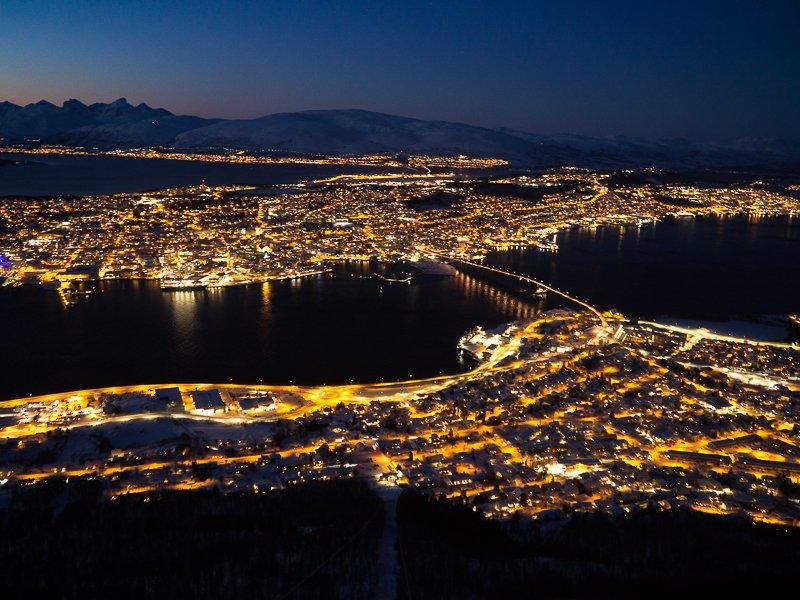 Tromso Fjellheisen Floya