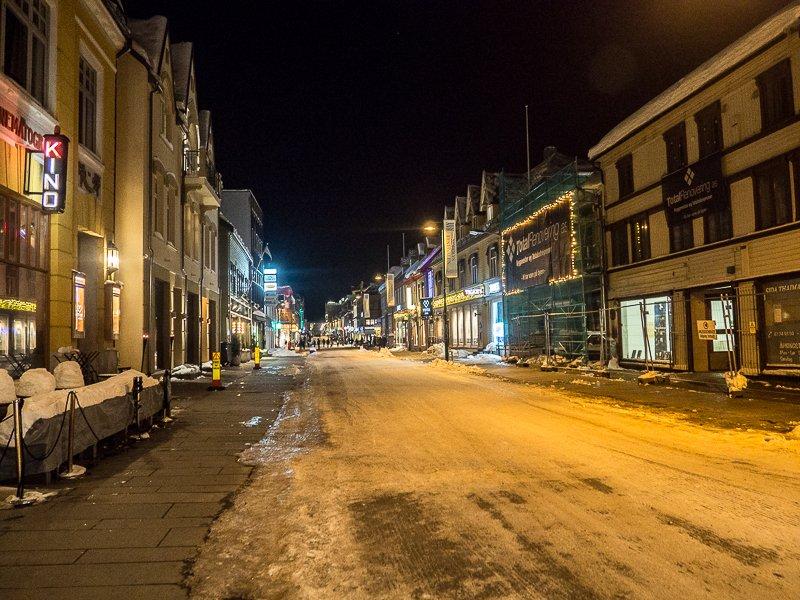 Tromso Storgata Norwegia