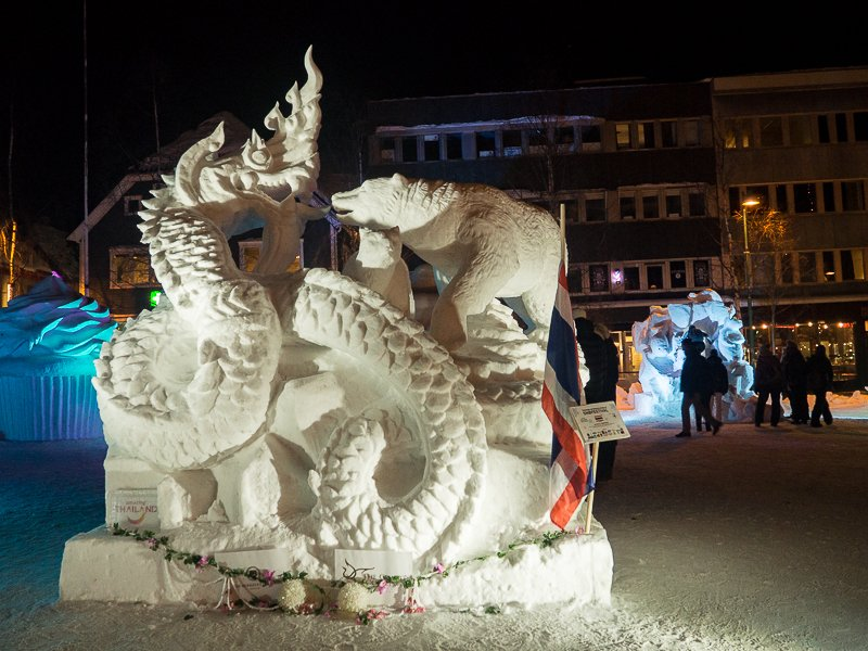 International Snow Festival Tromso Norwegia