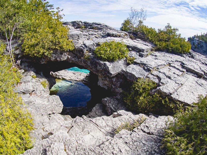 Bruce Peninsula Park Kanada Grotto