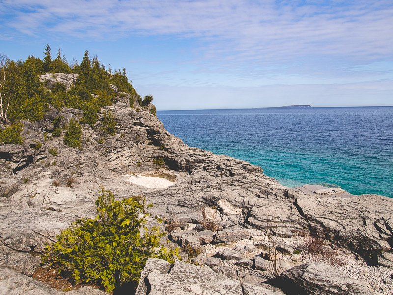 Bruce Peninsula Park Canada Indian Head Cove