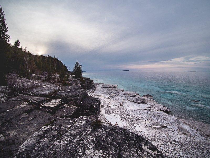Bruce Peninsula Park Canada
