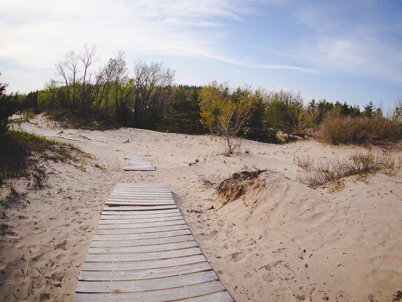 Sandbanks Provincial Park Ontario Canada