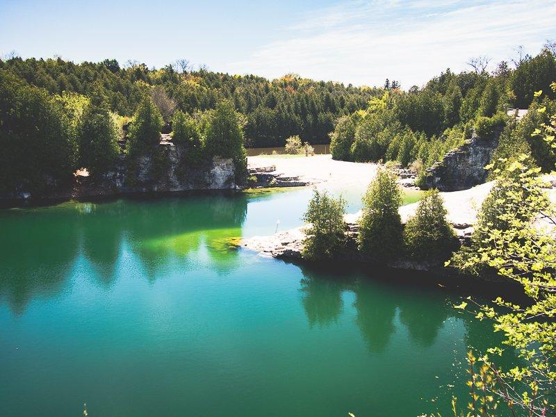 Elora Quarry Ontario Canada