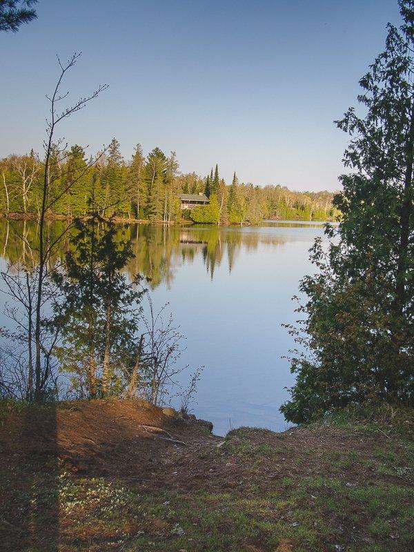Lake Alganquin Park Ontario Canada