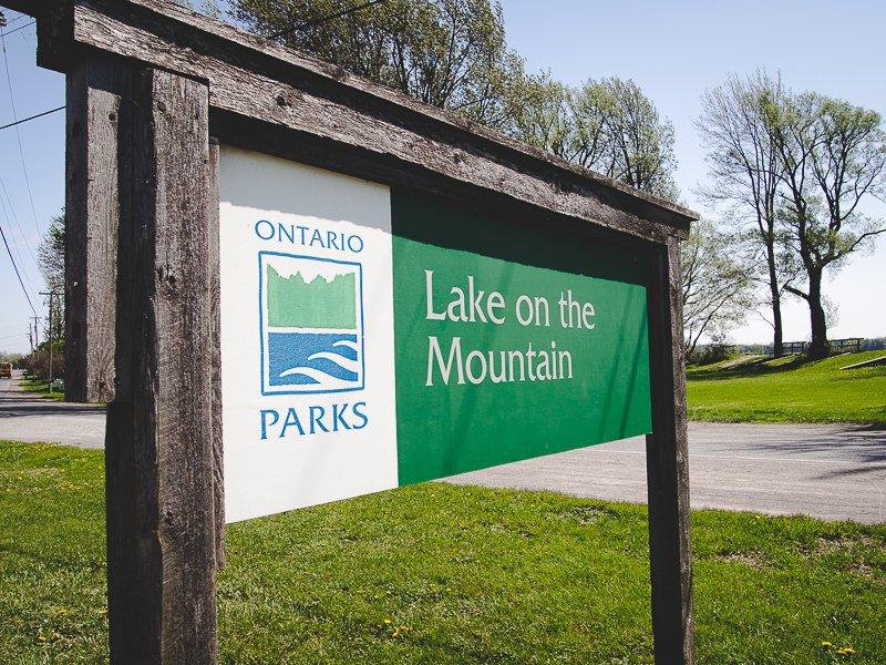 Lake on the Mountain Prince Edward County Ontario Canada