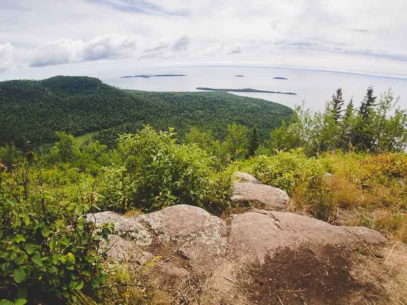 The Sleeping Giant Ontario Canada