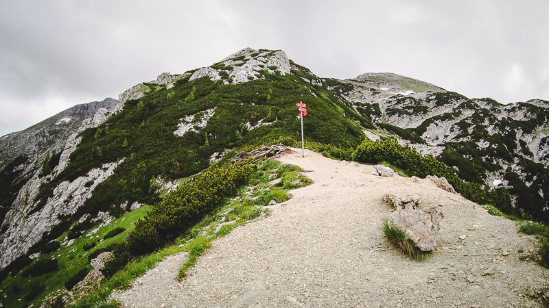 Srenjski Preval Triglav trekking Slovenia