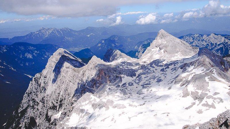 summit Triglav Slovenia