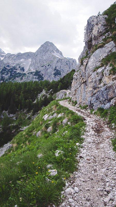 trekking Rudno Poje Triglav Slovenia