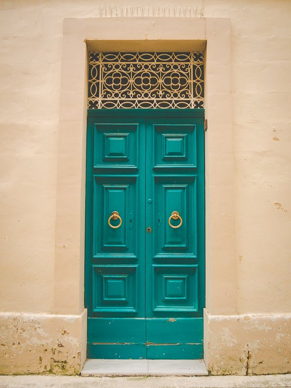 Malta Valletta Drzwi Doors Aga Out Of Office